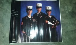 Old usmc recruitment posters in Cherry Point, North Carolina