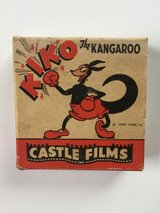 16mm Vintage Kiko the Kangaroo Cartoon Film in Fort Riley, Kansas