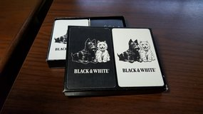 Black & White Scotch Whiskey Playing Cards in Aurora, Illinois