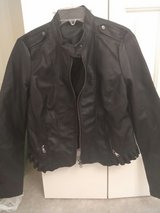 Womens Rue 21 Black Faux Leather Jacket in Fort Bragg, North Carolina