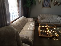 COUCH,LOVESEAT, ROCKER/Recliner, Square Coffee Table, 2 Nesting Tables... in Oswego, Illinois