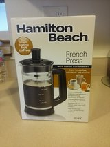 Hamilton Beach French Press Coffee Maker in Schaumburg, Illinois