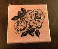 Wood Flower Stamp in Naperville, Illinois