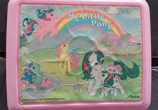 VINTAGE 1980's MY LITTLE PONY LUNCH BOX in St. Charles, Illinois