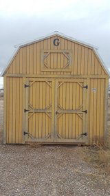 Large Portable Shed---FOR SALE OR TRADE in Ruidoso, New Mexico