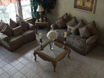 Sofa Set and Tables in Naperville, Illinois