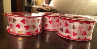 Wired Heart Ribbon Rolls in Plainfield, Illinois