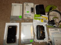 iPhone cases, Headset, Surge Protector & Other Cases Bundle Sale in Fort Campbell, Kentucky