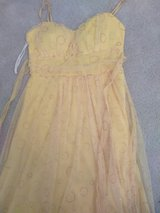 Girls Dressy Yellow Dress For All Special Occasion Size Small in Fort Bragg, North Carolina
