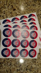 Ninja Warrior Stickers Party Favor in Naperville, Illinois