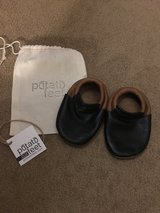 Leather moccasin shoes 18-24 mo in Chicago, Illinois