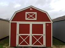 Pre-Owned 12x16 Lofted Barn Storage Shed in Conroe, Texas