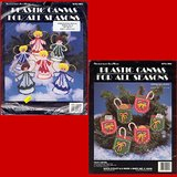 2 PLASTIC CANVAS XMAS KITS, Needlecraft Ala Mode in Oswego, Illinois