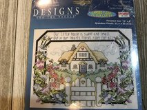 Our little house cross stitch kit in Alamogordo, New Mexico