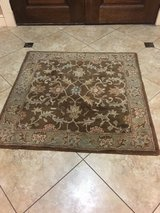 Wool rug in The Woodlands, Texas