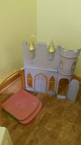 Play castle in Orland Park, Illinois