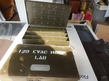 VINTAGE 129 EVACUATION ARMY HOSPTIAL METAL BOXES in The Woodlands, Texas