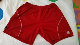 Men's Adidas Climalite Shorts Red Size L in Fort Gordon, Georgia