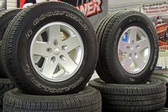 Jeep Wrangler Spare Tires and Wheels in Fort Carson, Colorado