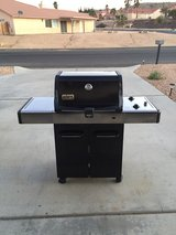 Weber Spirit grill w/cast iron inserts in Yucca Valley, California
