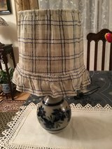 Vintage French Pottery Lamp in Ramstein, Germany