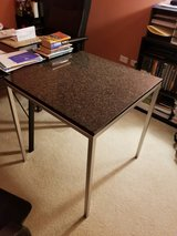 Marble Top Metallic Table in Schaumburg, Illinois