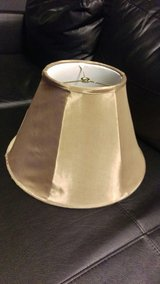 Golden Silk Lamp Shade in Schaumburg, Illinois