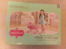 Baby Tender Hearts Baby Doll Pram Stroller in Chicago, Illinois