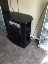 TV stand with DVD storage in Chicago, Illinois