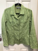 Beautiful Green Chico's Jacket in The Woodlands, Texas