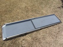"Solv-it telescoping dog/pet ramp meas approx 17"" x 71"" in Fort Bliss, Texas"