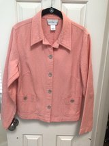 Beautiful Coral Quilted Jacket in The Woodlands, Texas