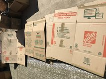 Large, medium, small moving boxes (28 total) in Fort Rucker, Alabama