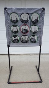 Football Target Toss Game in Travis AFB, California