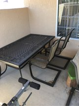 patio table w/ 6 chairs in 29 Palms, California