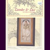 Lavender & Lace WHITE LACE Wedding Cross Stitch Chart Sealed in Oswego, Illinois
