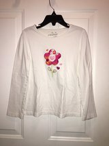 White long sleeve tshirt with flowers (Jumping Beans) in Naperville, Illinois