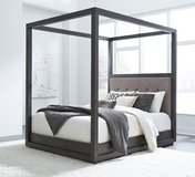"INVENTORY SALE! LUXURIOUS DESIGNER QUEEN CANOPY ""SOLID HEAVY WOOD"" BEDFRAME! in Camp Pendleton, California"