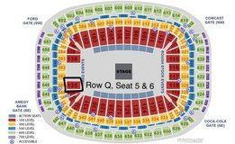 Keith Urban - Sec 135 WITH PARKING PASS in Spring, Texas