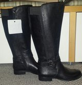 New!  Womens Shoes - Naturalizer Tall Boots - Genuine Leather Black in Lockport, Illinois