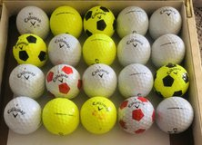 20 Callaway Chrome Soft used golf balls near mint condition in Aurora, Illinois