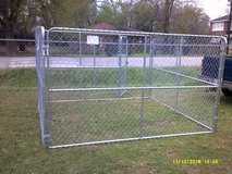 Dog Kennel,  10' x 10' x 6' chain link in Pasadena, Texas