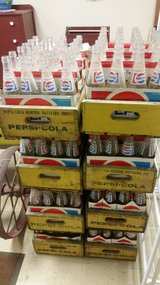 Vintage Pepsi Crates with bottles in Naperville, Illinois