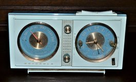 Mid Century Motorola CX28B Clock Radio CIRCA 1961 in Ramstein, Germany