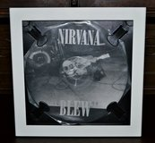 "Nirvana 12"" Picture Disc ""BLEW"" and Professional Album Frame in Ramstein, Germany"