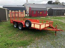 """77""""x14' Tandem Pipetop Utility in Leesville, Louisiana"""