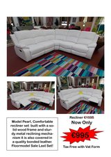 Pearl recliner sectional clearance sale in Ramstein, Germany