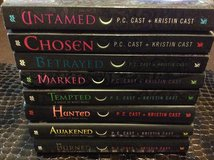 A House of Night 8 book lot in Byron, Georgia