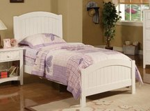 BRAND NEW! QUALITY URBAN SOLID WHITE FINISHED TWIN BEDFRAME in Camp Pendleton, California
