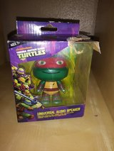 Ninja Turtle speaker/key chain in The Woodlands, Texas